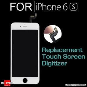 LCD Touch Screen Replacement Digitizer for iPhone 6S White Colour
