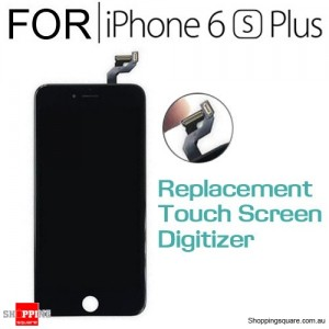 LCD Touch Screen Replacement Digitizer for iPhone 6S Plus Black Colour