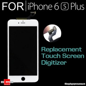 LCD Touch Screen Replacement Digitizer for iPhone 6S Plus White Colour