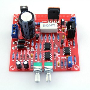 Adjustable 0-30V 2mA - 3A DC Regulated Power Supply DIY Kit
