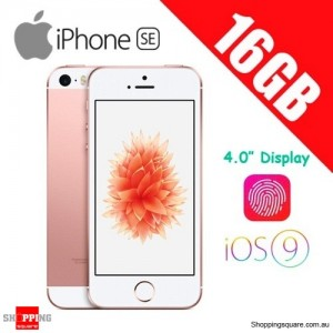 Apple iPhone SE 16GB LTE 4G 4 inches Smart Phone Rose Gold