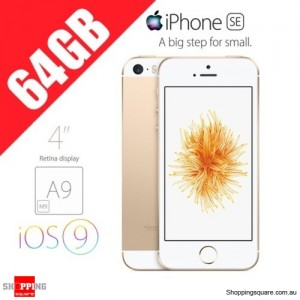 Apple iPhone SE 64GB LTE 4G 4 inches Smart Phone Gold