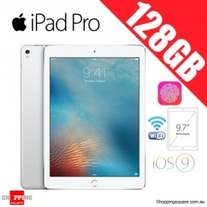 Apple iPad Pro 128GB 9.7 inches Wi-Fi Tablet Silver
