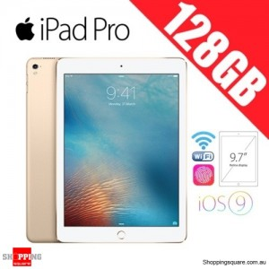 Apple iPad Pro 128GB 9.7 inches Wi-Fi Tablet Gold