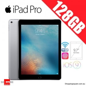 Apple iPad Pro 128GB 9.7 inches Wi-Fi Tablet Space Gray