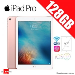 Apple iPad Pro 128GB 9.7 inches Wi-Fi Tablet Rose Gold