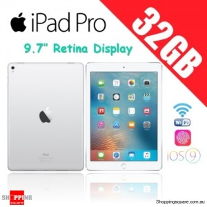 Apple iPad Pro 32GB 9.7 inches Wi-Fi Tablet Silver
