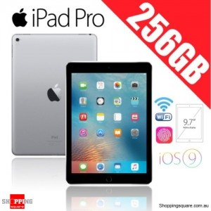 Apple iPad Pro 256GB 9.7 inches Wi-Fi Tablet Space Gray