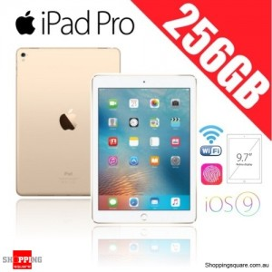 Apple iPad Pro 256GB 9.7 inches Wi-Fi Tablet Gold