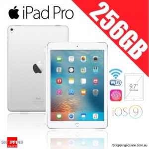 Apple iPad Pro 256GB 9.7 inches Wi-Fi Tablet Silver