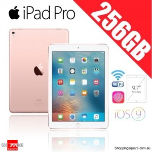 Apple iPad Pro 256GB 9.7 inches Wi-Fi Tablet Rose Gold