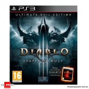Diablo 3 Reaper of Souls Ultimate Evil Edition PS3 Brand New
