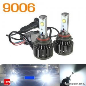 9006 6000K Car High Power XML2 LED 60W 7200LM Headlight Kit