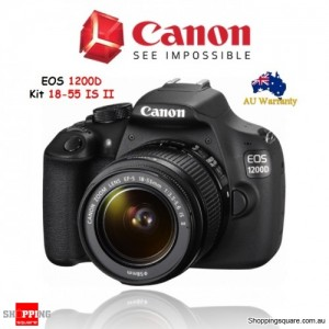 Canon EOS 1200D + EF-S 18-55mm f/3.5-5.6 IS II DSLR Camera Kit