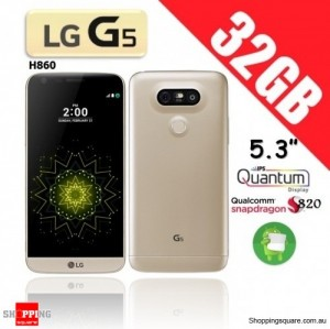 LG G5 H860 32GB Dual Sim 4G Smart Phone Unlocked Gold