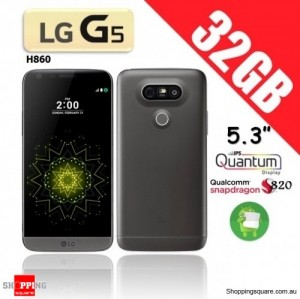 LG G5 H860 32GB Dual Sim 4G Smart Phone Unlocked Titan Gray