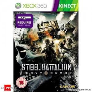 Steel Battalion Heavy Armor - xbox 360 Game (pre-owned)