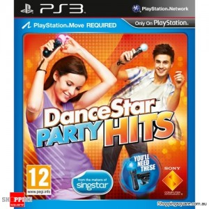 DanceStar Party Hits - PS3 PlayStation 3 (preowned)