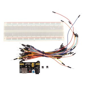 MB-102 MB102 Solderless Breadboard + Power Supply + Jumper Cable Kits For Arduino