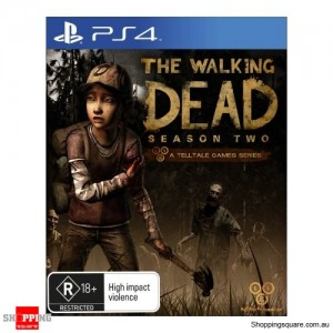 The Walking Dead: Season Two – PS4 Playstation 4 Brand New