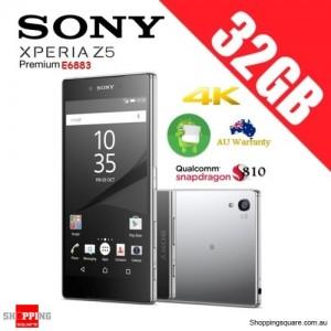 Sony Xperia Z5 Premium E6883 Dual 4G LTE 32GB Unlocked Smart Phone Chrome