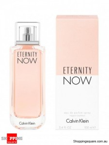 CK Eternity Now 100ml EDP By Calvin Klein For Women Perfume