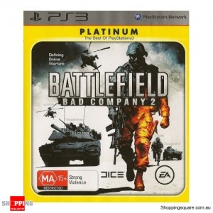 Battlefield: Bad Company 2 Platinum PS3 (Sony PlayStation 3) - Pre-Owned