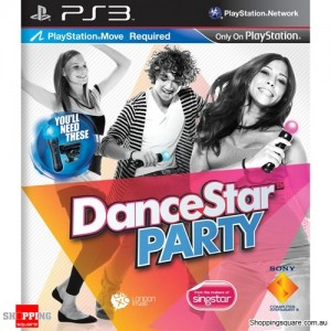 DanceStar Party -  PS3 Playstation 3 (pre-owned)
