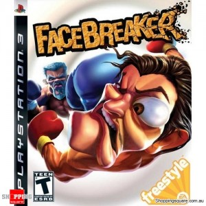 Face Bracker - PS3 Playstation 3 Game (pre-owned)
