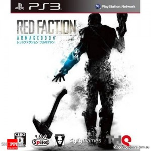 Red Faction Armageddon - PS3 Playstation Game (pre-owned)