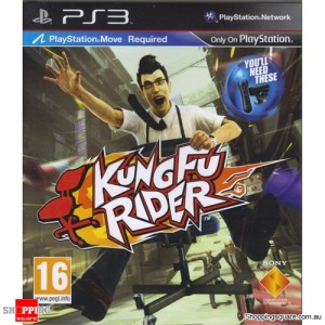 Kung Fu Rider - PS3 Playstation3 (pre-owned)
