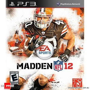 Madden NFL 12 - PS3 Playstation3 (pre-owned)