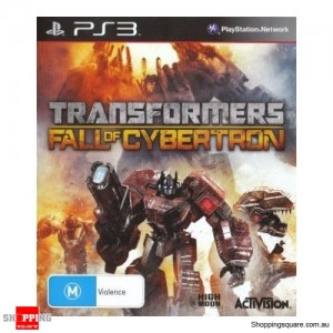 Transformers Fall Of Cybertron - PS3 Playstation 3 Brand New