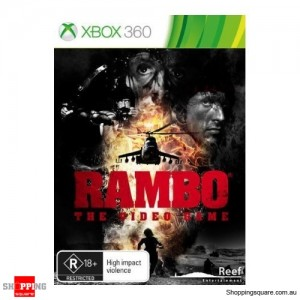 Rambo The Video Game - Xbox 360 Brand New