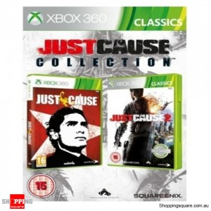 Just Cause Collection 1 and 2 Doublepack - Xbox 360 Brand New
