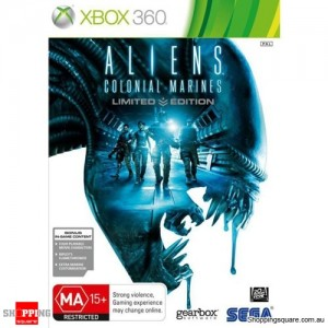 Aliens Colonial Marines - Limited Edition - Xbox 360 Brand New