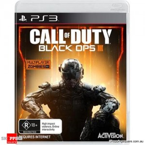 Call Of Duty Black Ops III 3 - PS3 Playstation 3 - Brand New