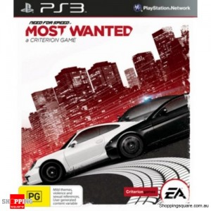Need for Speed Most Wanted - PS3 Playstation 3 Brand New