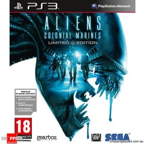 Aliens Colonial Marines Limited Edition - PS3 - Brand New