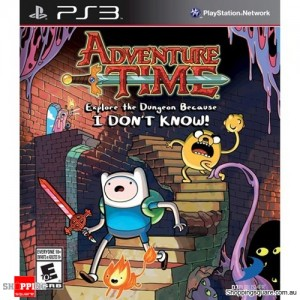Adventure Time Explore the Dungeon Because I don't know - PS3 - Brand New
