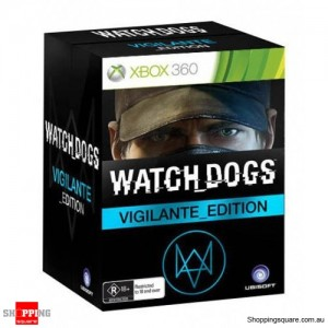 Watch Dogs Vigilante Edition - Xbox 360 - Brand New