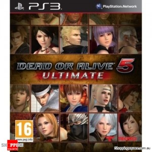 Dead Or Alive 5 Ultimate - PS3 Playstation 3