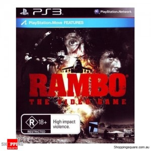 Rambo The Video Game - PS3 PlayStation 3