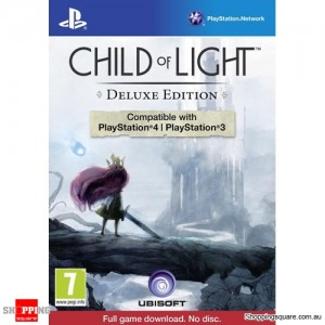 Child of Light Deluxe Edition - PS3 & PS4 Playstation