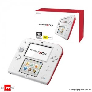 Nintendo 2DS Console (Red/White)