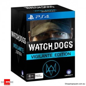 Watch Dogs Vigilante Edition - PS4 Playstation 4 - Brand New
