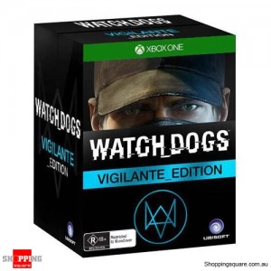 Watch Dogs Vigilante Edition - Xbox One Xone - Brand New