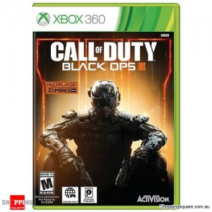 Call of Duty: Black Ops III - Xbox 360 Brand New