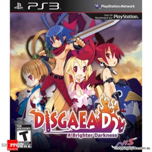 Disgaea D2: A Brighter Darkness - PS3 Playstation 3 - Brand New Sealed