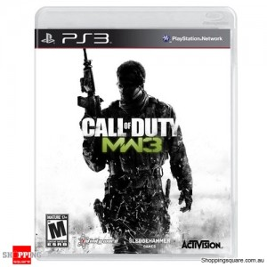 Call Of Duty MW3 Modern Warfare 3 PS 3 Playstation 3 - Brand New Sealed